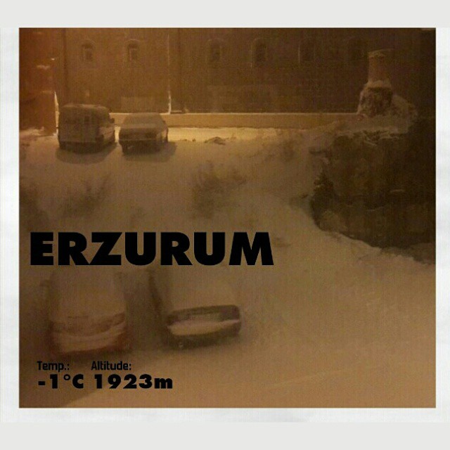 erzurum kar