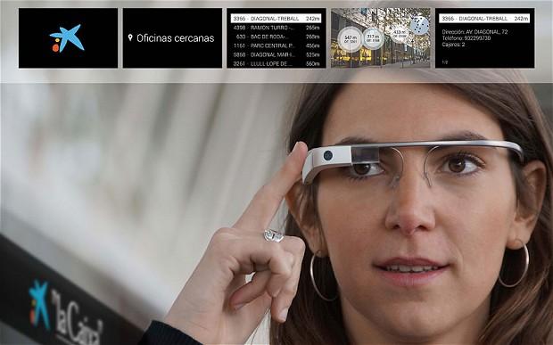 google glass ve bankacılık