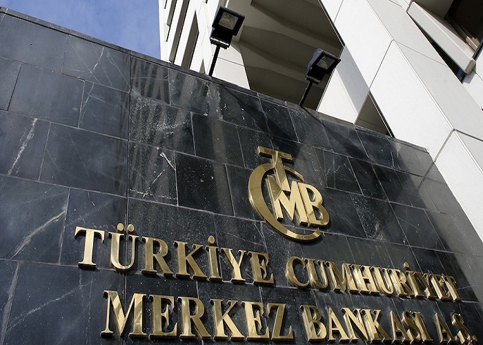 Turkey's Central Bank headquarters is seen in Ankara